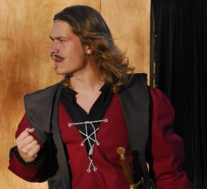 Karl Schauland, 2008, performed in King Lear in 2007.