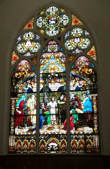 Stain Glass - Jesus child
