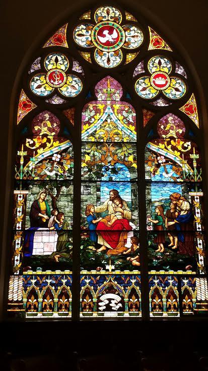 Stain Glass - Jesus