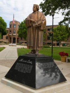 MLC Luther Statue