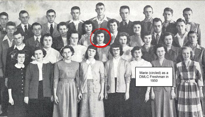 MarieCircledDMLC1950s