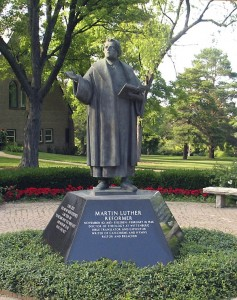 WLS Luther Statue