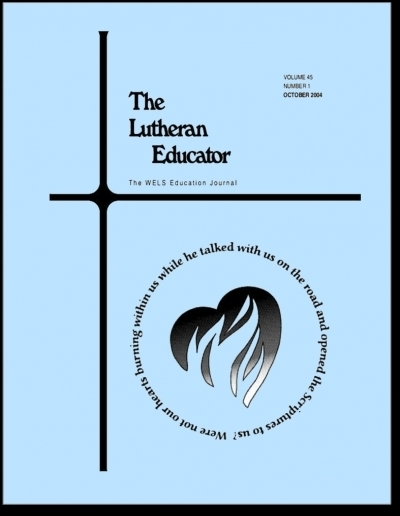 The Lutheran Educator