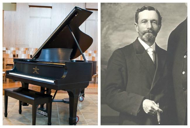 Reuter Steinway Piano