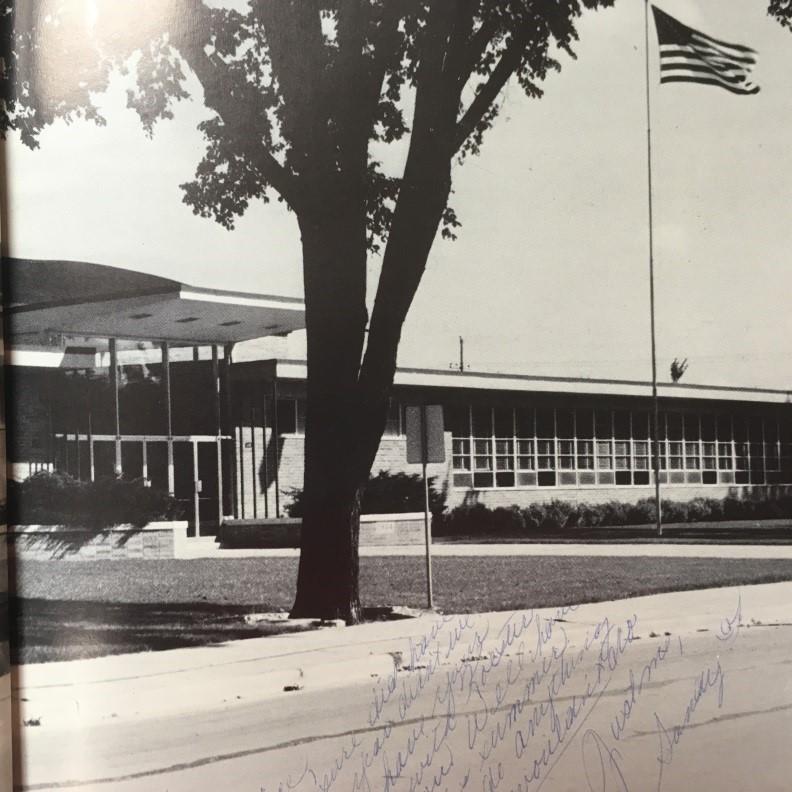 Winnebago Lutheran Academy in 1961