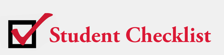 student-checklist