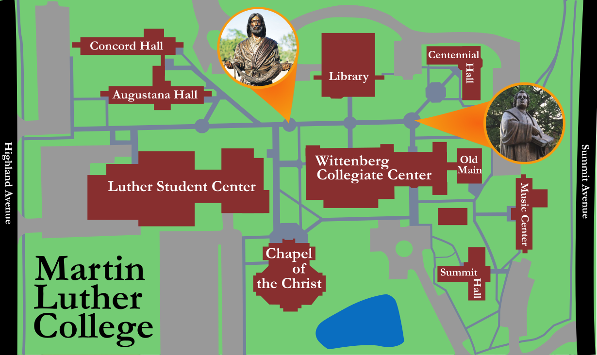 Salem College Campus Map.Martin Luther College Campus Map Www Naturalrugs Store
